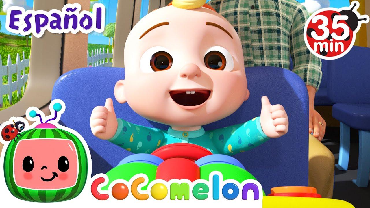 CoComelon en Español | Las ruedas del bus van | Compilación de Canciones Infantiles y de Cuna