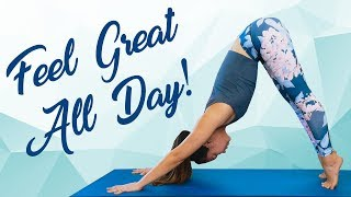 Meet Julia B! Morning Yoga Flow to Energize Your Day, Relieve Pain & Boost Flexibility
