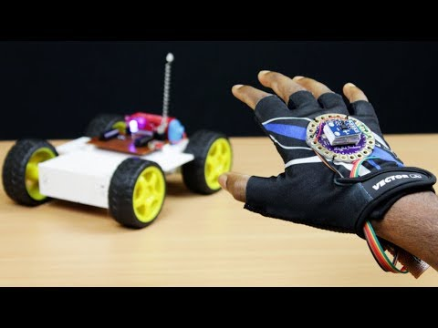 How To Make A Gesture Control Robot At Home