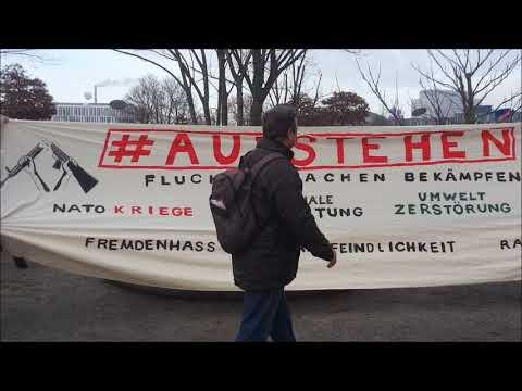 #Aufstehen - Natur Statt Waffen - Demo Berlin 1.12.2018