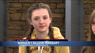 At What Age should you let your kids wear makeup