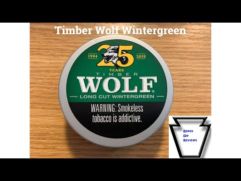 Timber Wolf Wintergreen Re-visited & 25th Anniversary Can