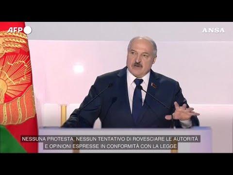 Bielorussia, Lukashenko: