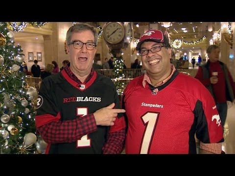 Ottawa and Calgary mayors wage friendly bet on Grey Cup
