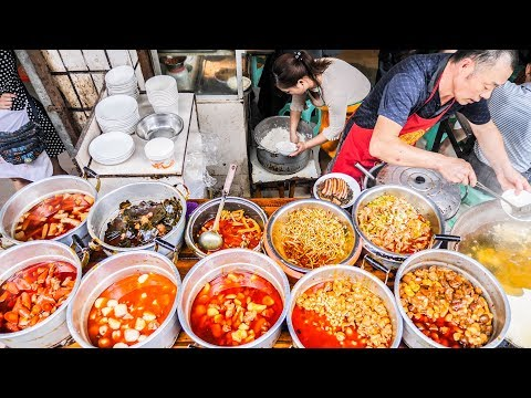 UNSEEN Chinese Street Food BREAKFAST TOUR in DEEP Sichuan, C