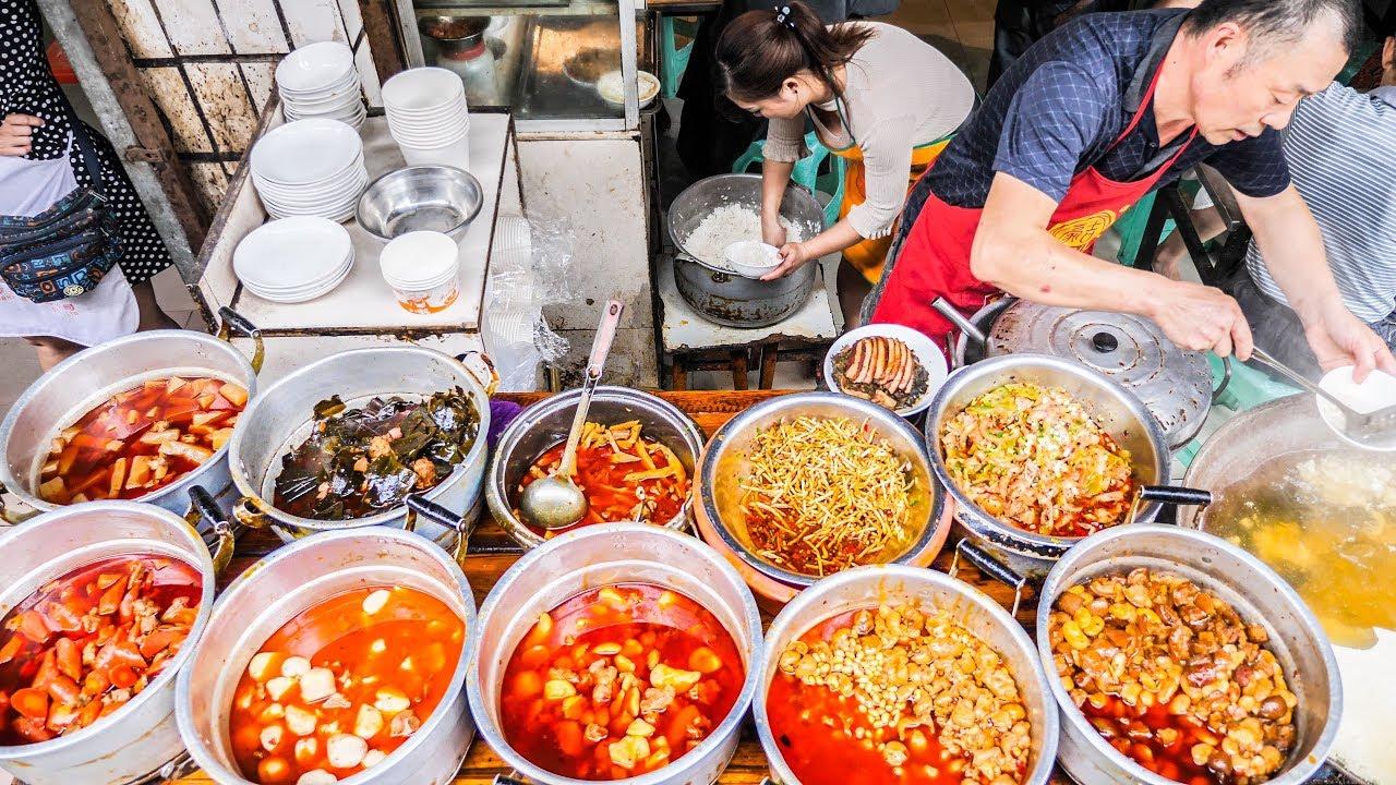 Unseen Chinese Street Food Breakfast Tour In Deep Sichu Doovi