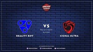 RR vs Cignal Ultra   DreamLeague S13 Closed Qual   Best of 3   Caster: EG