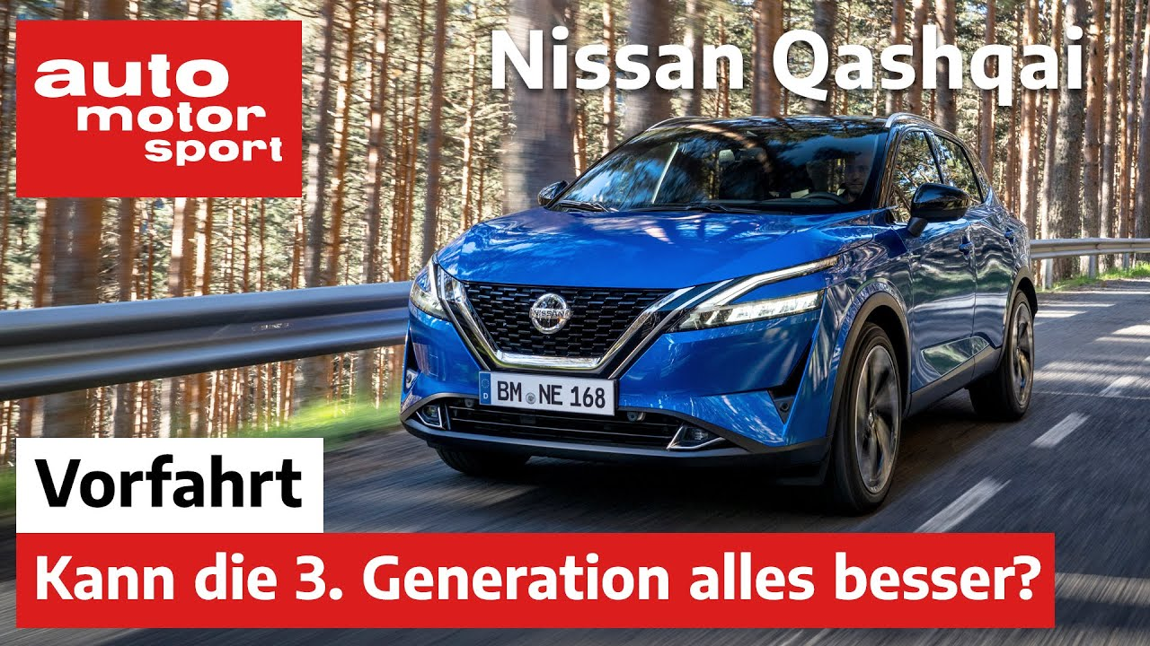 Nissan Qashqai (2021): Wie gut ist die dritte Generation? – Vorfahrt (Review) | auto motor und sport