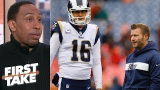 Sean McVay under pressure to beat the Dallas Cowboys - Stephen A. | First Take