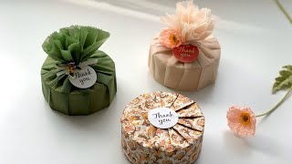 원통 선물포장-Gift wrapping