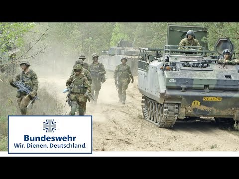 "Gefechtsschießen: Multinationale Battlegroup bei ""Enhanced Forward Presence"" in Litauen-Bundeswehr"