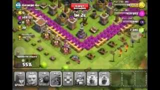 clash of clans 205'000 gold +10 trophies 1* | Rui - kings