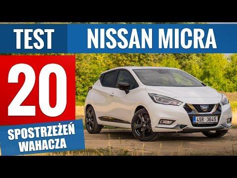 Nissan Micra K14 1.0 I-GT 100 KM Tekna (2019) - TEST PL