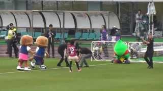 2013.5.19ファジアーノ岡山vs徳島ヴォルティス 13:00キックオフ@カ...