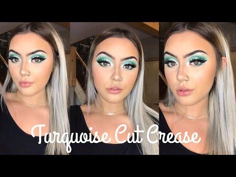 TURQUOISE CUT CREASE thumbnail