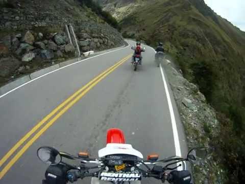 Peru and Chile Road to Macchu Picchu XR650 Go Pro