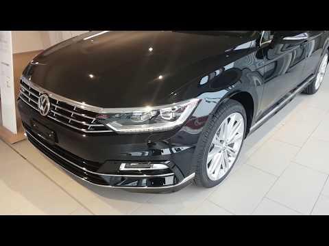 NEW VW Passat Variant Sport R line 2018   Interior    Exterior Review