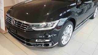 NEW VW Passat Variant Sport R line 2018   Interior    Exterior Review