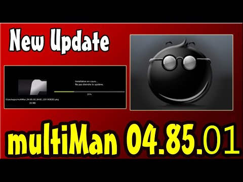 PS3 New Update multiMAN v04.82.00  For CFW...