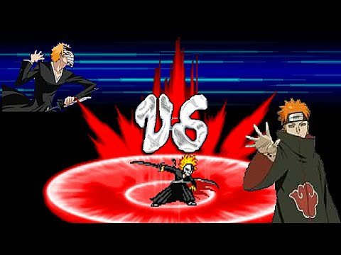 Bleach Vs Naruto 2.4 - Single Combat #2 - Game Show - Game ...
