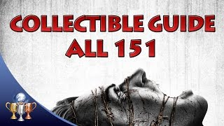 The Evil Within - ALL 151 Collectibles and Locker Keys - Master of Unlocking & Every Nook and Cranny