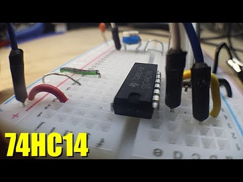 Digital Logic - 74HC14 Inverting Schmitt Trigger