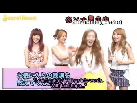 [eng Sub] Secret - Twinkle Twinkle Release Comments (June 2012)