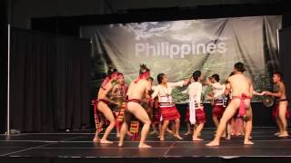 Philppine Cordillerans of Saskatoon - kalinga  Pattong (Folk Fest 2013)