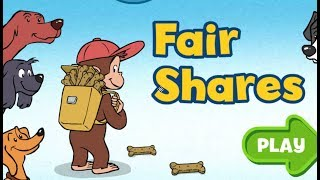Curious George: Busy Day Dogs ( Fair Shares )