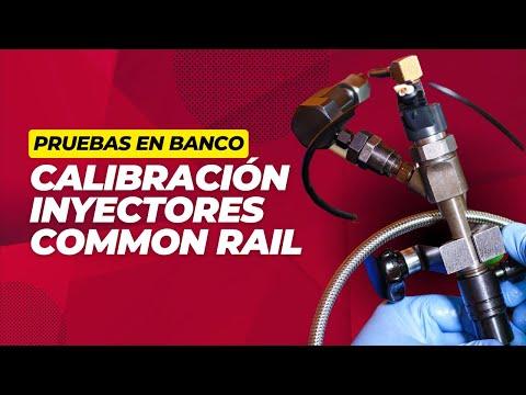 Inyectores Common Rail y su Calibración en Banco - Parte 1