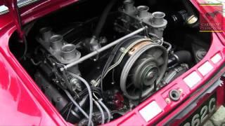 Porsche 911 SWB 1965 - engine - Gstaad Classic Rally. CarshowClassic.com