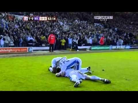 Luciano Becchio goal v Millwall - PO Semi-Final L2 - 2008-2009
