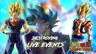 DESTROYING EVENTS LIVE! WILL PART 2 CELEBRATION BE ANNOUNCED TONIGHT!? | DRAGON BALL Z DOKKAN BATTLE