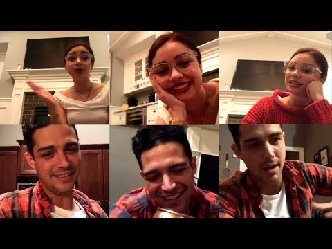 Sarah Hyland | DUAL Instagram Live Stream | 29 November 2017 w/ Boyfriend Wells Adams