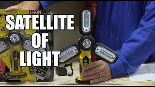 Stanley Satellite SAT3 LED light work light and USB Charger