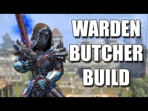 THE BUTCHER - Stamina Warden PVP Build in ESO (Elder Scrolls Online)