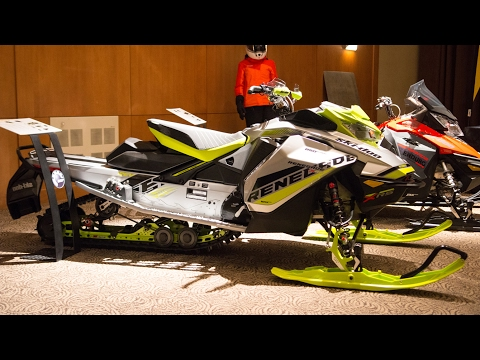 Ski-Doo 2018 - MXZ & Renegade X-RS 850 E-TEC