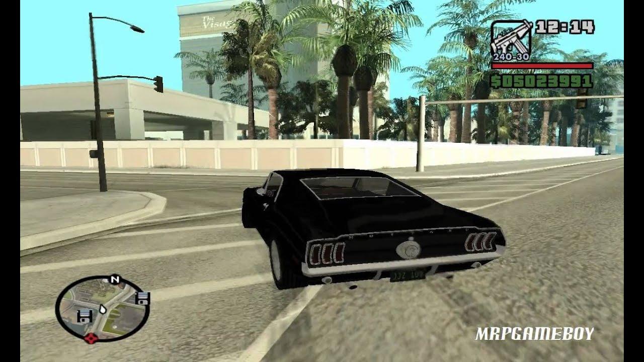 F F Tokyo Drift Car Mod In Gta San Andreas Youtube