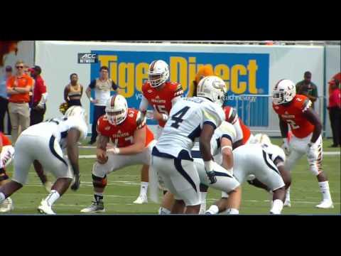 NCAAF - Georgia Tech at Miami (2015)