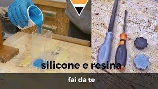 Come fare uno stampo in silicone e resina || Fai da te