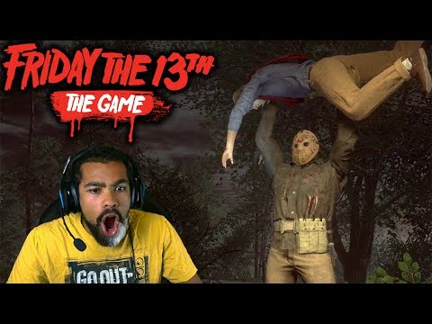 YOU CAN NEVER TRUST A KILLER!! | Friday the 13th: The Game
