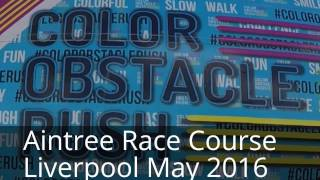 Colour Obstacle Rush UK Liverpool 2016