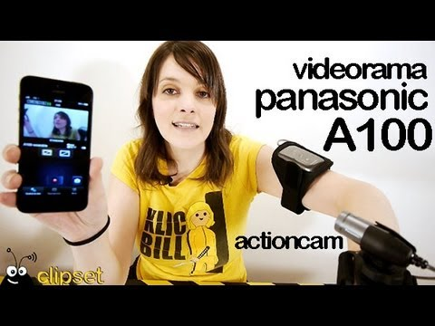 Panasonic A100 action cam review Videorama