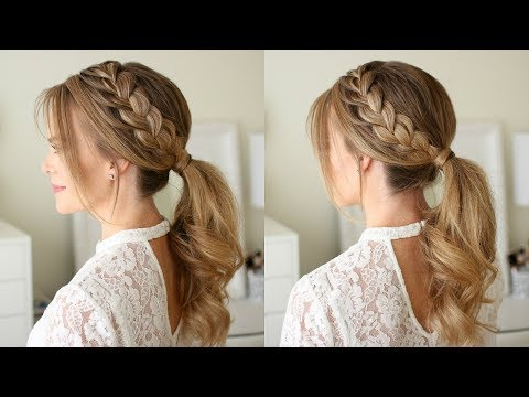Lace Braid Ponytail | Missy Sue