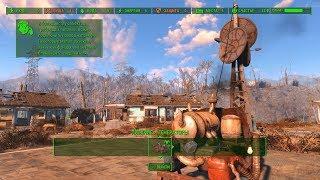 КАК ПОСТРОИТЬ ВЕРБОВОЧНЫЙ МАЯК И ПРОТЯНУТЬ ПРОВОД Fallout 4 НА ВИДЕО КАРТЕ GTX 960  ЧАСТЬ 6