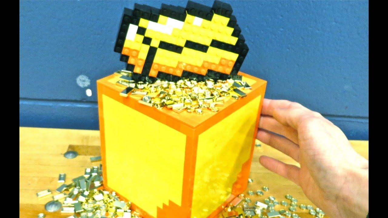 LEGO Gold Block  Minecraft  YouTube