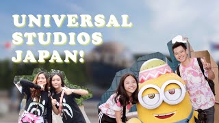 Japan Vlog — A DAY AT UNIVERSAL STUDIOS JAPAN! | Vlog #5