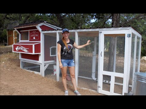 DIY Chicken Coop Run | How To Build