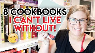 8 COOKBOOKS EVERYONE SHOULD OWN! 📚 VLOGUST 2020 DAY 6 ☀ WHAT ARE THE BEST COOKBOOKS?