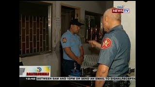 Ilang pulis sa Barugo Caloocan Police, naabutang natutulog sa duty ni NCRPO Police Dir. Albayalde